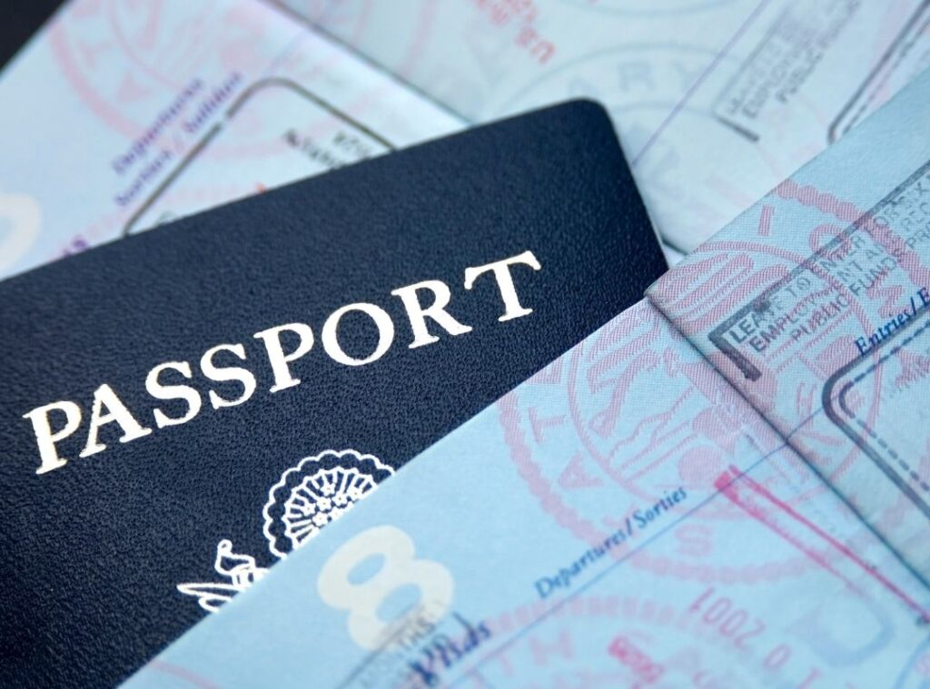 Passports are a common item left behind in hotel rooms