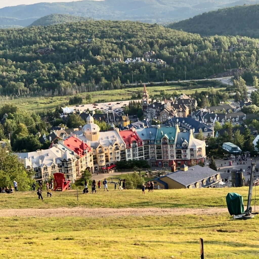 View of Mont Tremblant